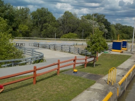 Canal Lock walkway