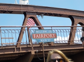 Main Street Fairport sign large