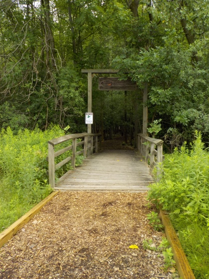 Nature trail entrance 1
