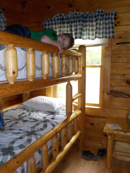 Holden on bunk bed